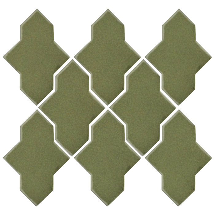 Studio Field Arabesque Pattern 2A Kelp 5615c