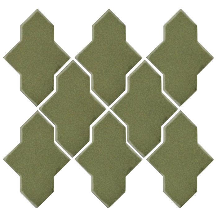 Studio Field Arabesque Pattern 2A Kelp 5615c