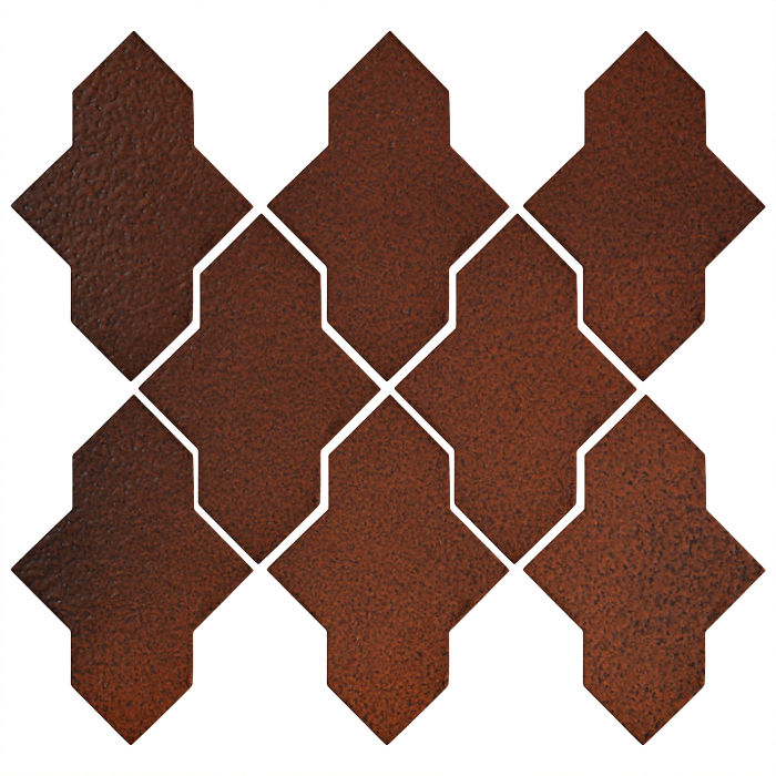 Studio Field Arabesque Pattern 2A Leather