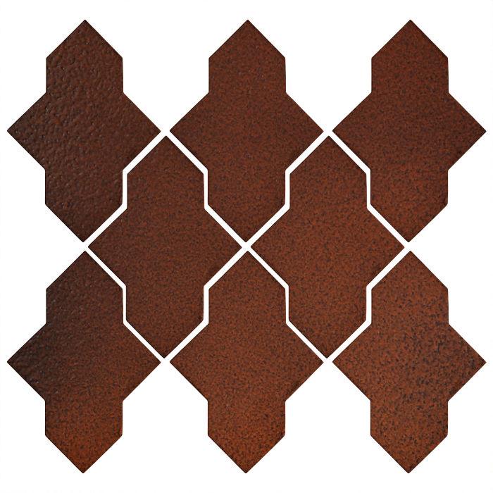 Studio Field Arabesque Pattern 2A Leather