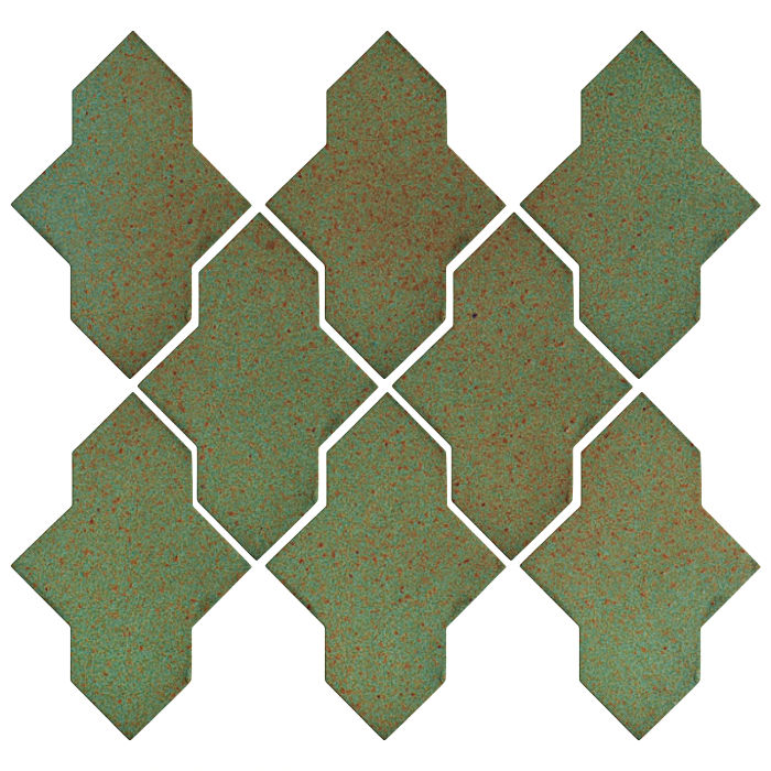 Studio Field Arabesque Pattern 2A Light Copper