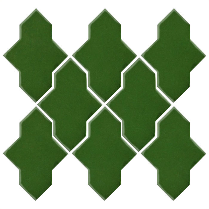 Studio Field Arabesque Pattern 2A Lucky Green 7734c