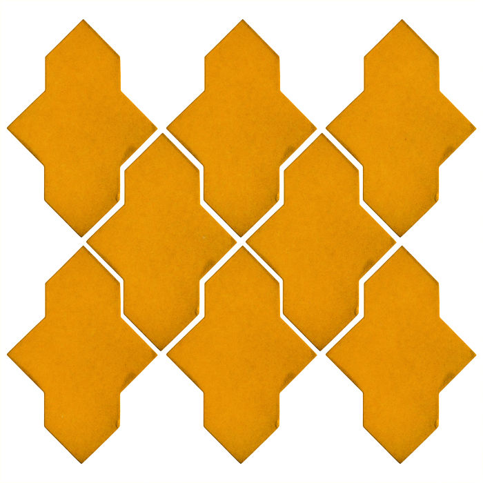 Studio Field Arabesque Pattern 2A Mandarin 129u