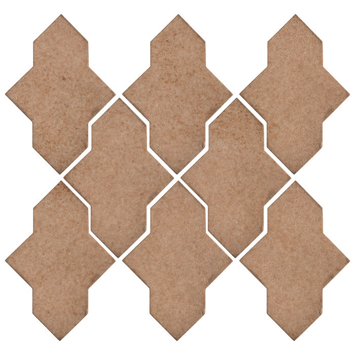 Studio Field Arabesque Pattern 2A Nut Shell 7504u