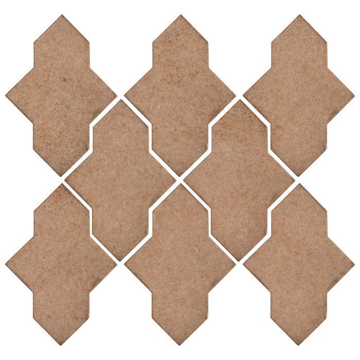 Studio Field Arabesque Pattern 2A Nut Shell 7504u