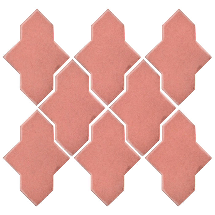 Studio Field Arabesque Pattern 2A Peach Pie