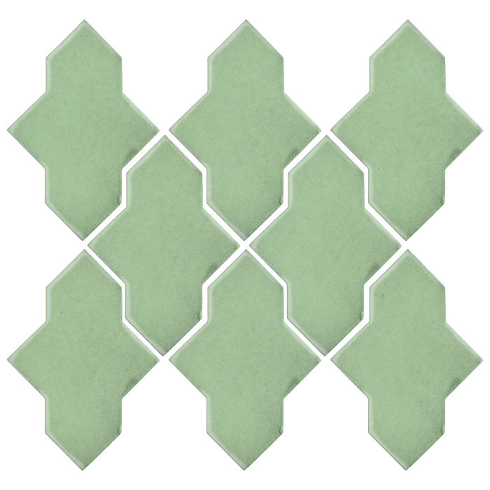 Studio Field Arabesque Pattern 2A Peppermint