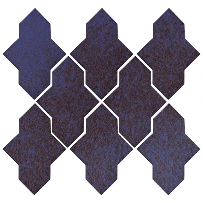 Studio Field Arabesque Pattern 2A Persian Blue