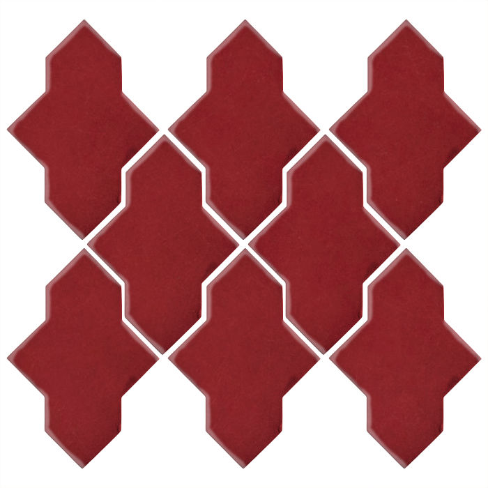 Studio Field Arabesque Pattern 2A Pinot Noir 7642c