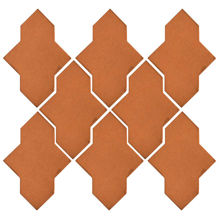 Studio Field Arabesque Pattern 2A Pottery Brown 470u