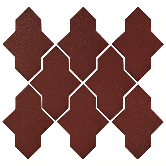 Studio Field Arabesque Pattern 2A Pueblo Red