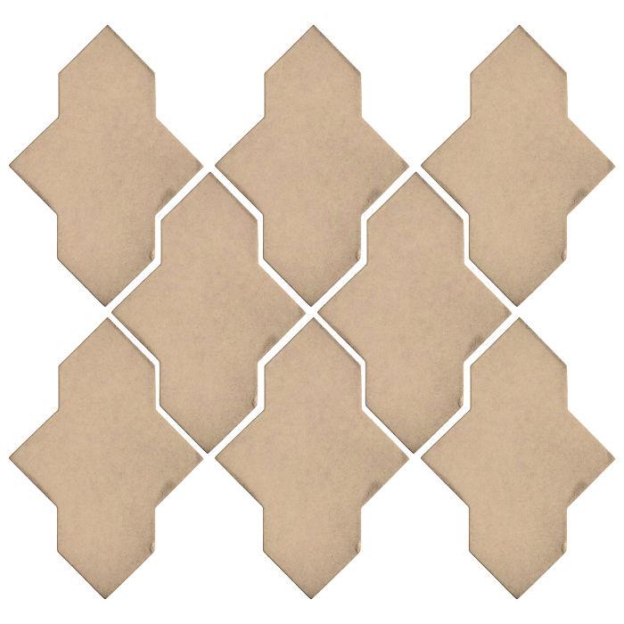 Studio Field Arabesque Pattern 2A Putty 4685c