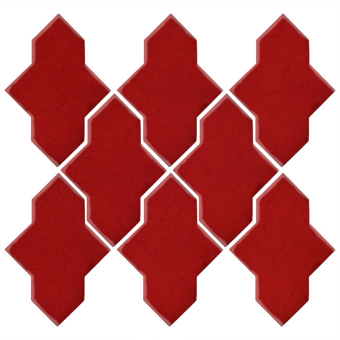 Studio Field Arabesque Pattern 2A Radish 7622c