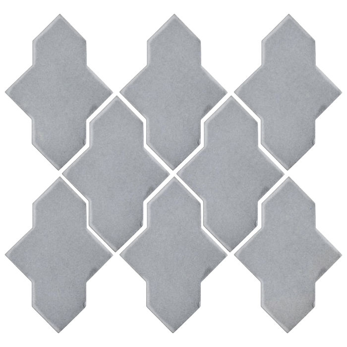 Studio Field Arabesque Pattern 2A Silver Shadow