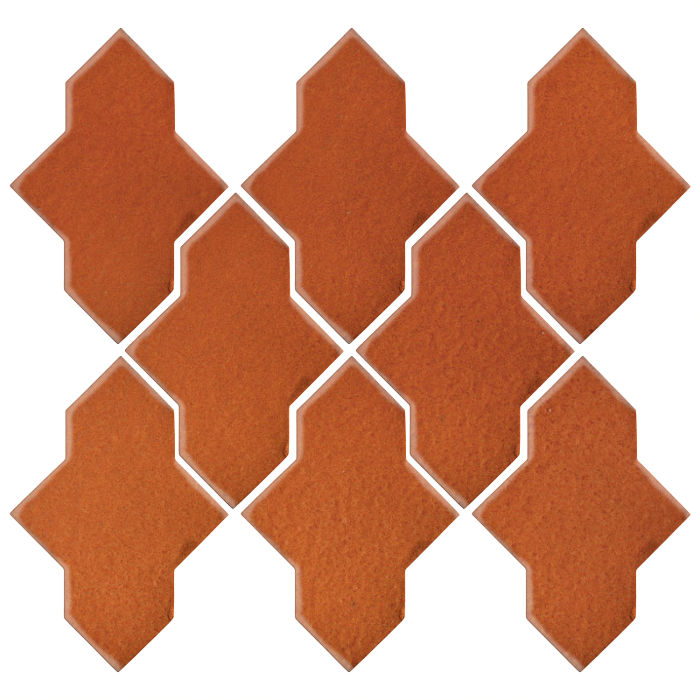 Studio Field Arabesque Pattern 2A Spanish Brown