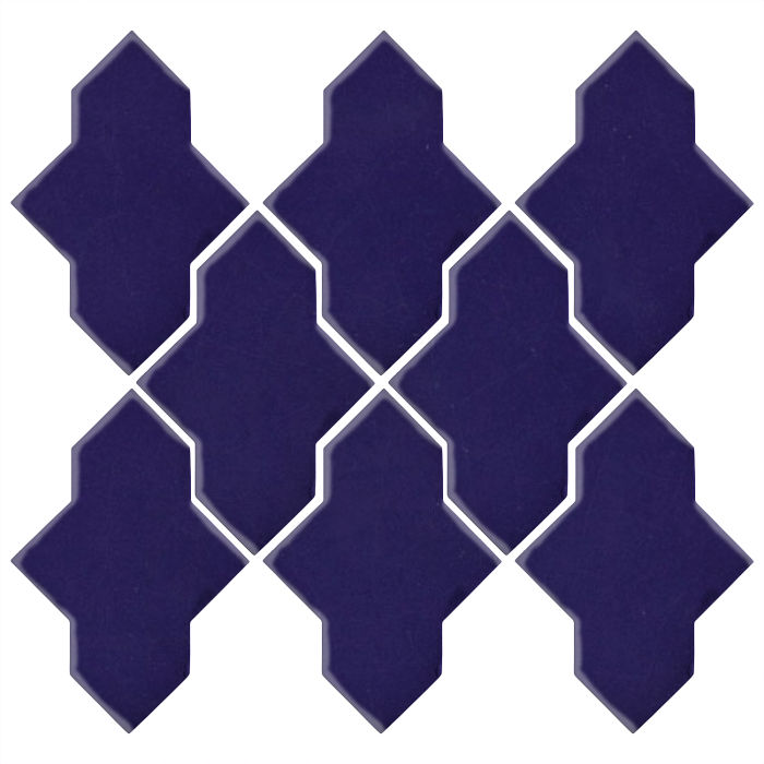 Studio Field Arabesque Pattern 2A Ultramarine 2758c