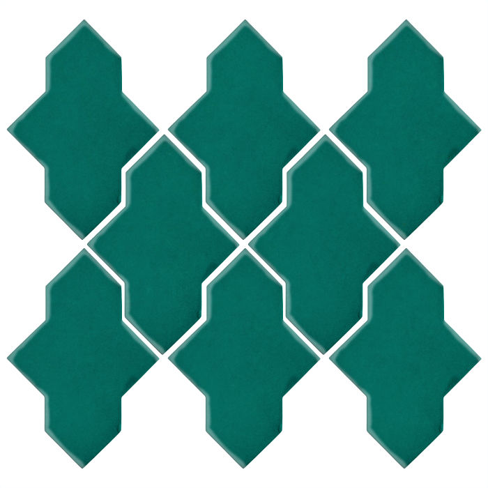 Studio Field Arabesque Pattern 2A Viridian 7721c
