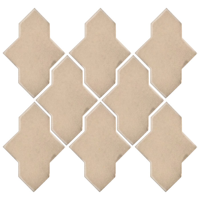 Studio Field Arabesque Pattern 2A White Bread 7506c