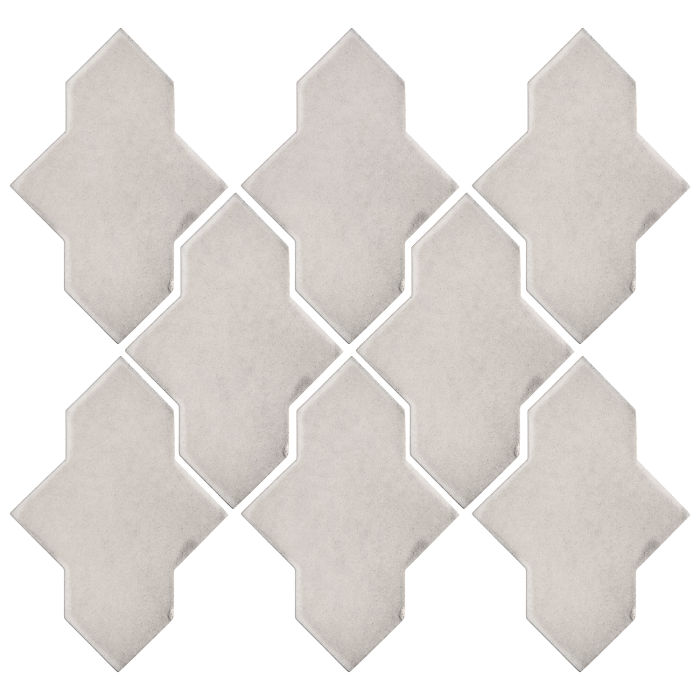 Studio Field Arabesque Pattern 2A Pure White