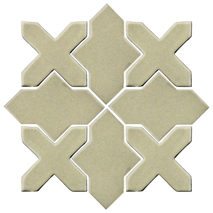 Studio Field Arabesque Pattern 2B Aloe Vera 5645c