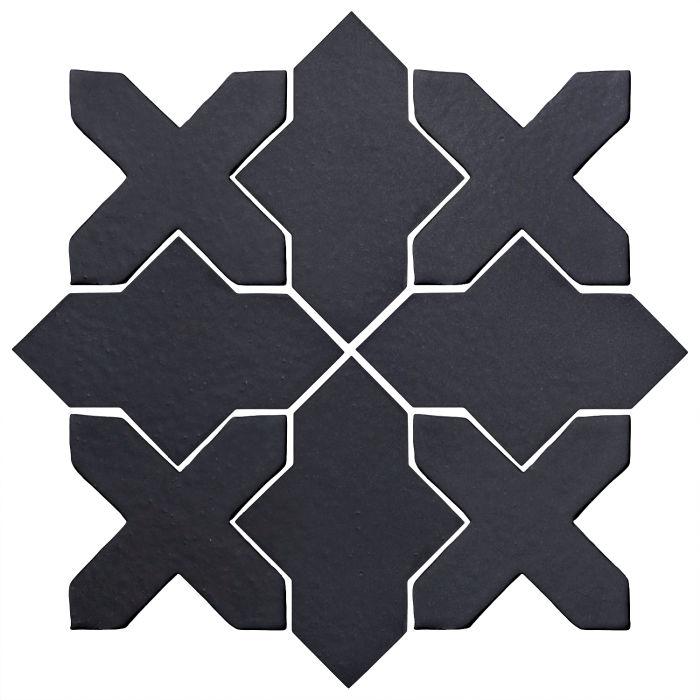 Studio Field Arabesque Pattern 2B Black Diamond