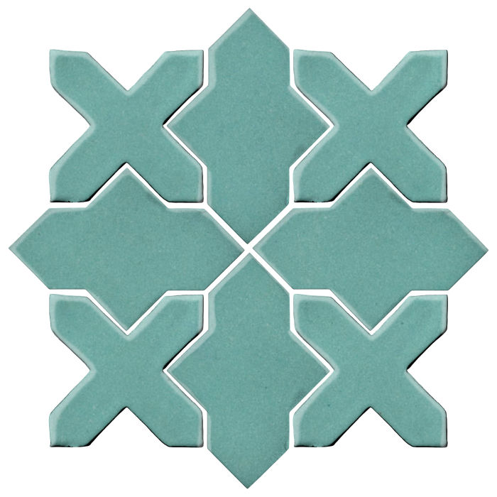 Studio Field Arabesque Pattern 2B Blue Haze 7458c