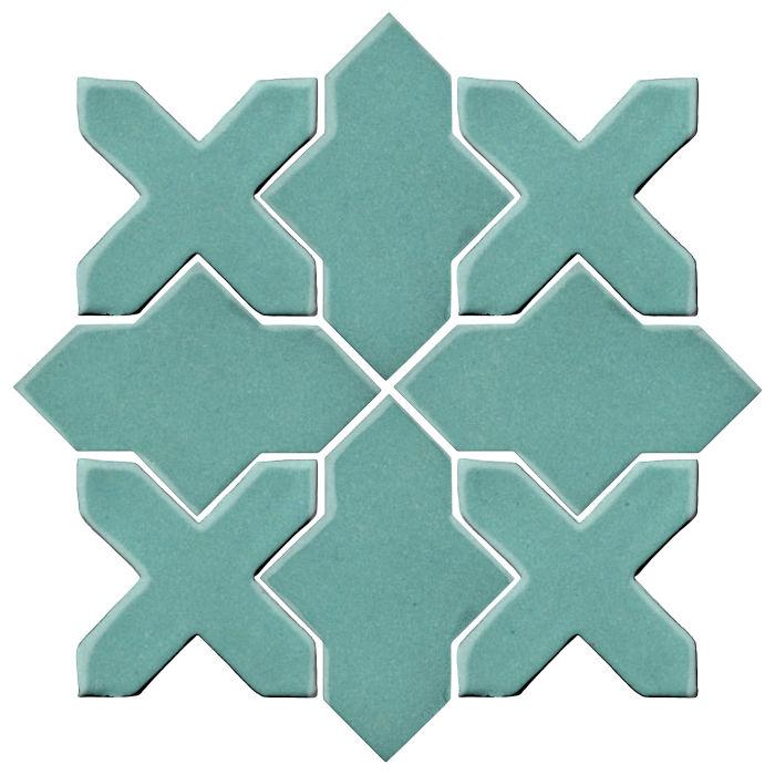 Studio Field Arabesque Pattern 2B Blue Haze 7458c