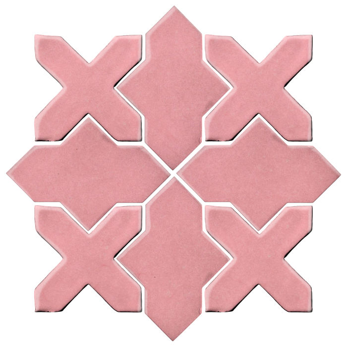 Studio Field Arabesque Pattern 2B Bubble Gum