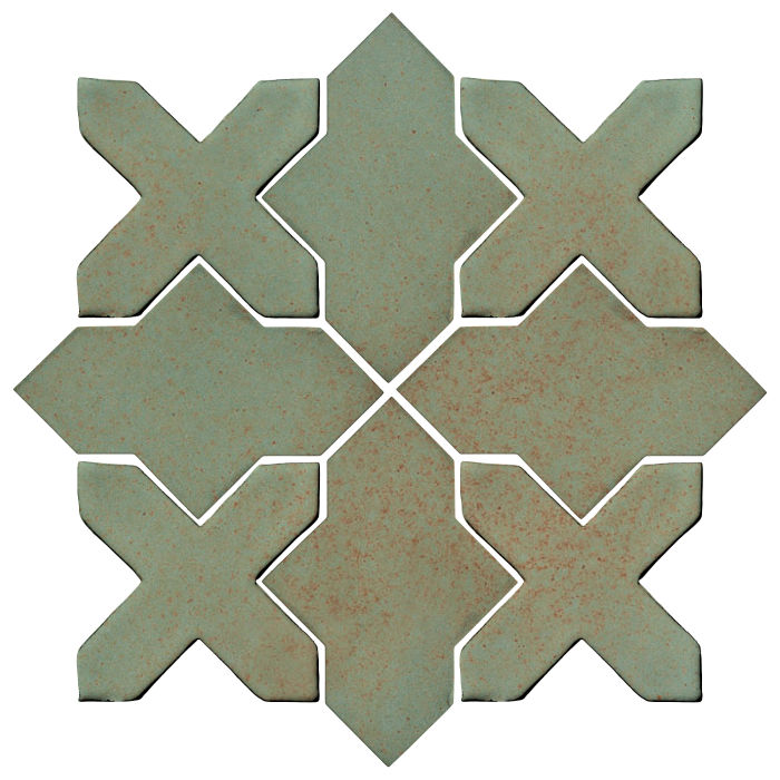 Studio Field Arabesque Pattern 2B Chrome