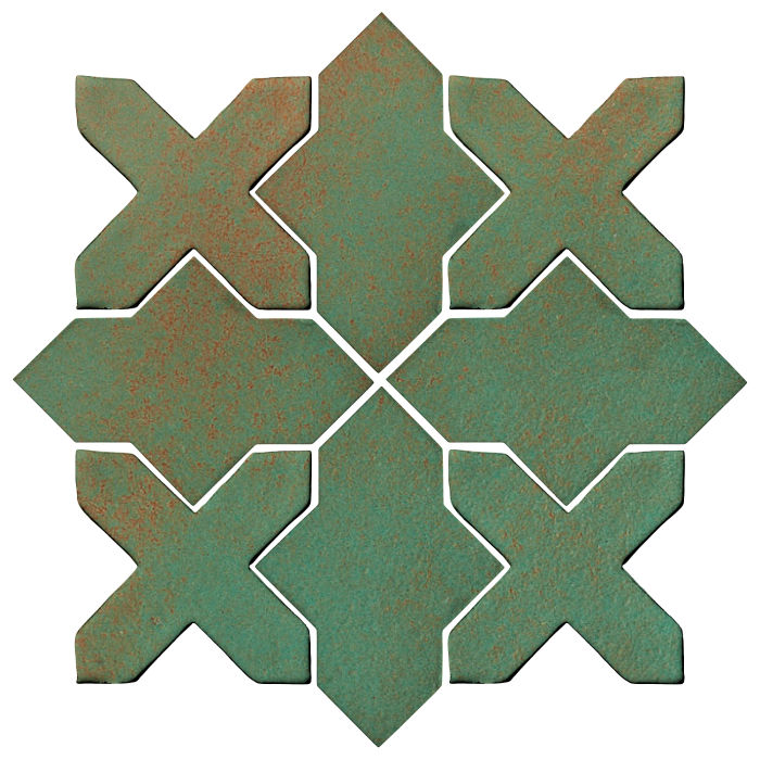 Studio Field Arabesque Pattern 2B Copper