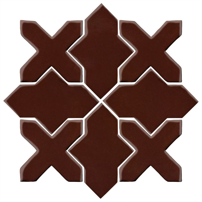 Studio Field Arabesque Pattern 2B Cordovan 476c