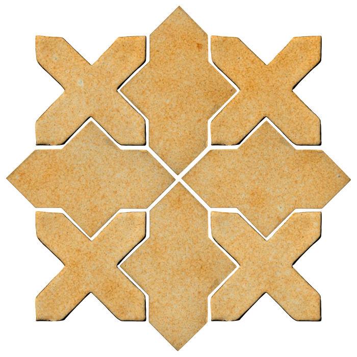 Studio Field Arabesque Pattern 2B Deli Mustard 7551u