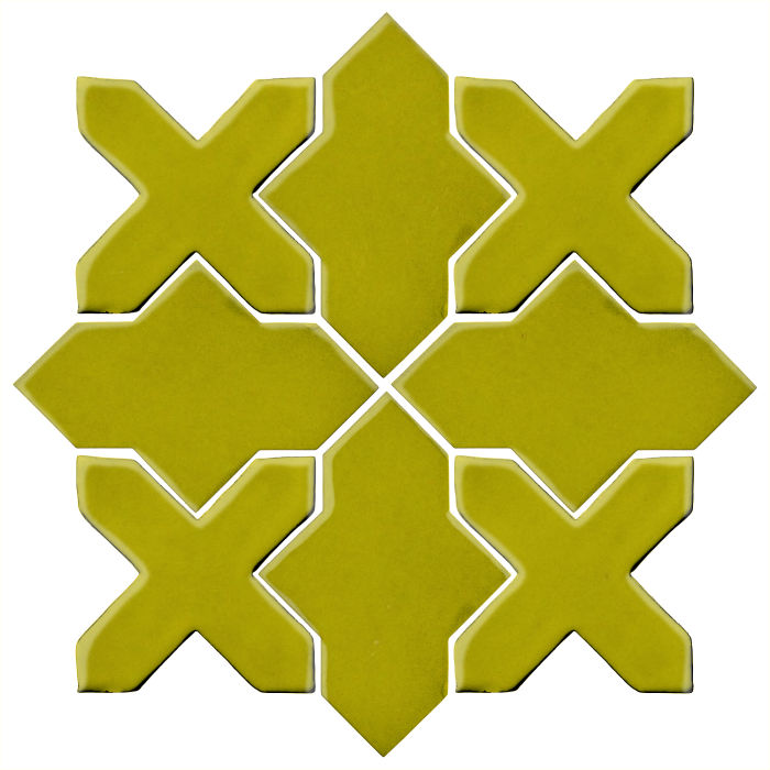 Studio Field Arabesque Pattern 2B Guacamole 7495c