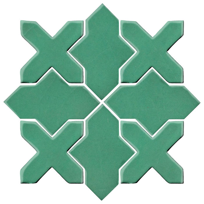 Studio Field Arabesque Pattern 2B Kale 7723c