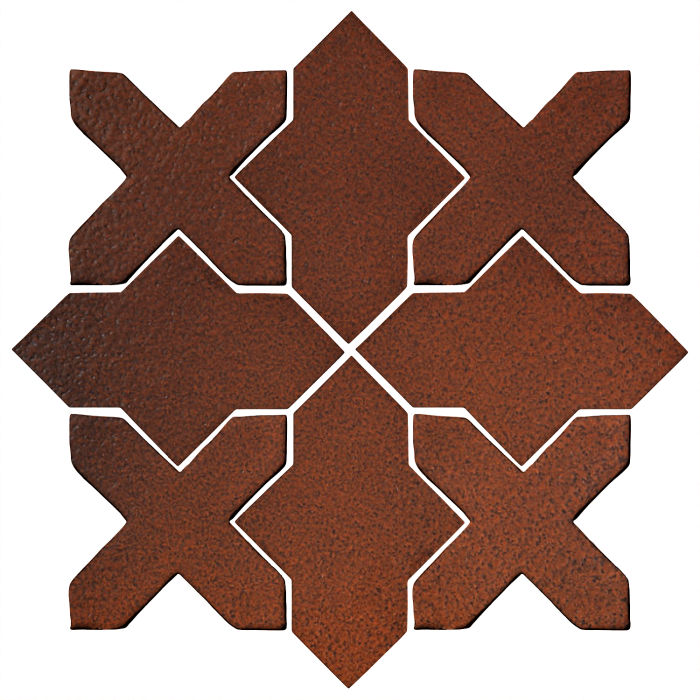 Studio Field Arabesque Pattern 2B Leather
