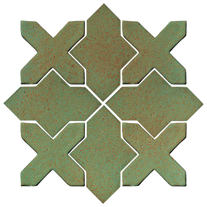 Studio Field Arabesque Pattern 2B Light Copper
