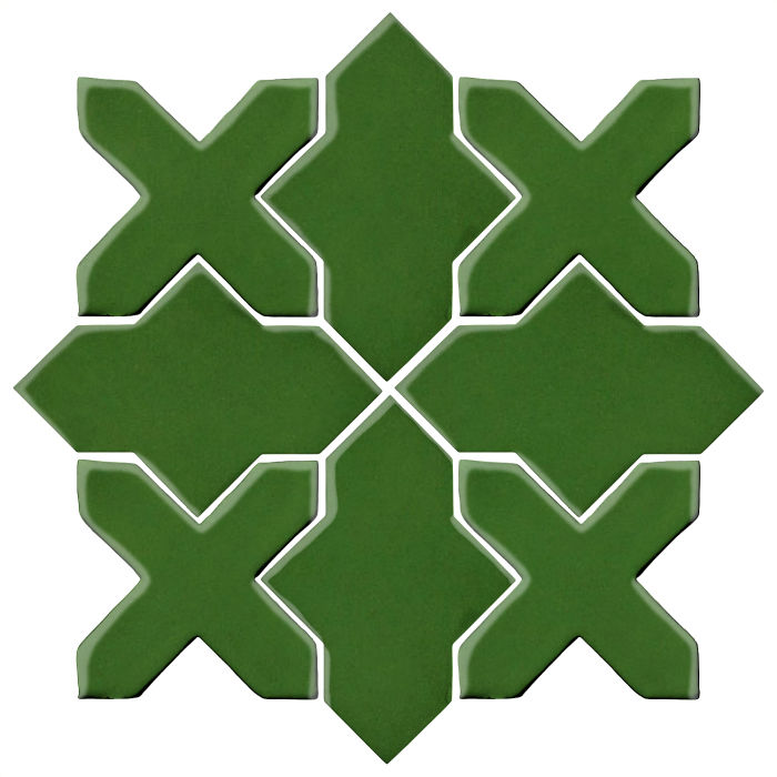 Studio Field Arabesque Pattern 2B Lucky Green 7734c