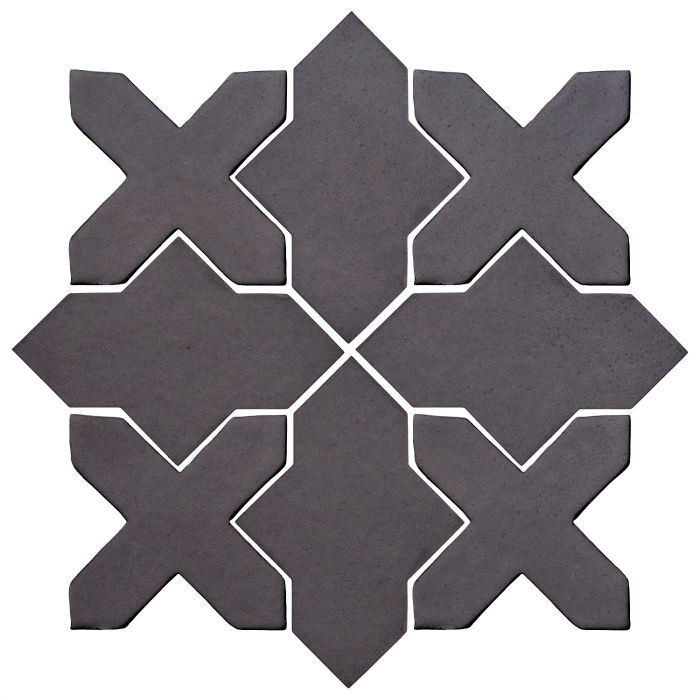Studio Field Arabesque Pattern 2B May Gray