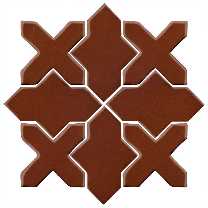 Studio Field Arabesque Pattern 2B Mocha 7581c