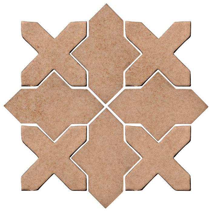 Studio Field Arabesque Pattern 2B Nut Shell 7504u
