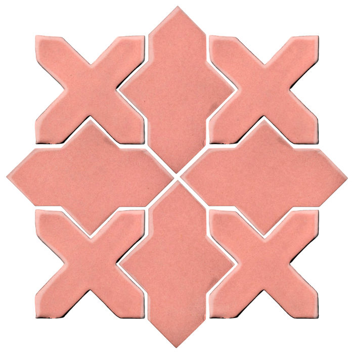Studio Field Arabesque Pattern 2B Peach Pie