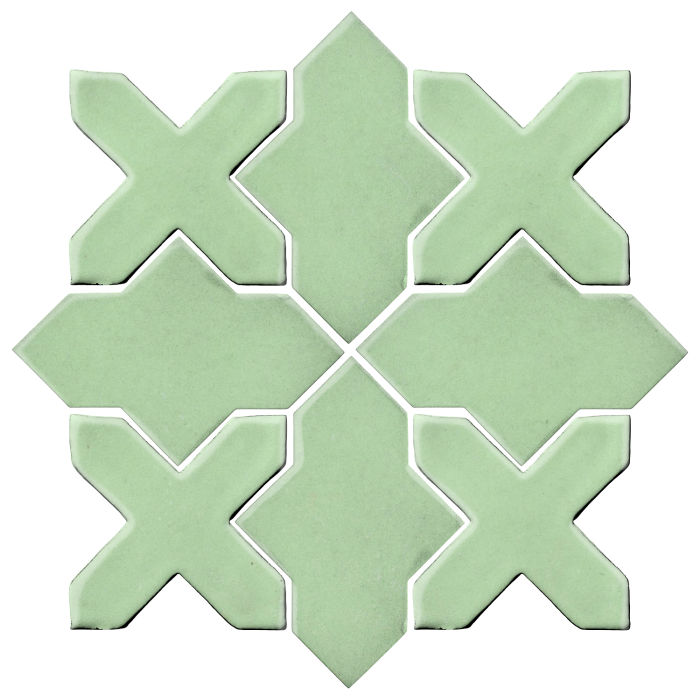 Studio Field Arabesque Pattern 2B Peppermint