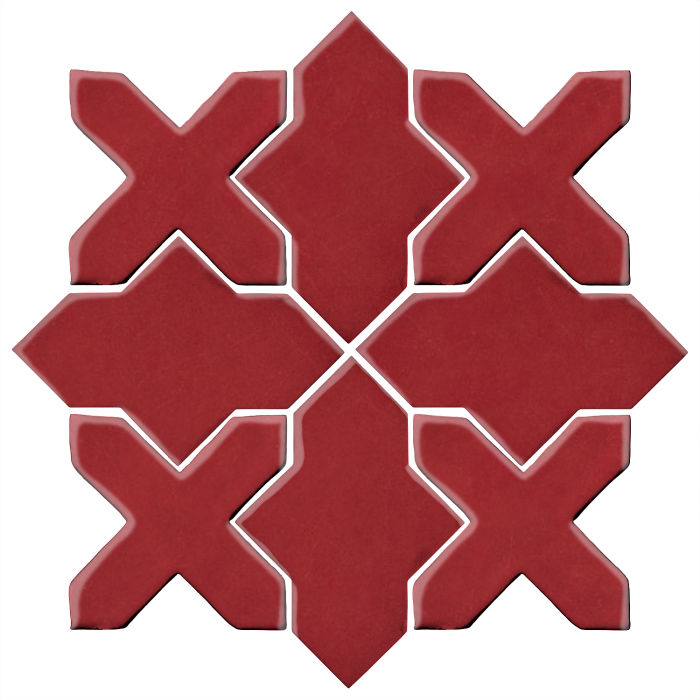 Studio Field Arabesque Pattern 2B Pinot Noir 7642c
