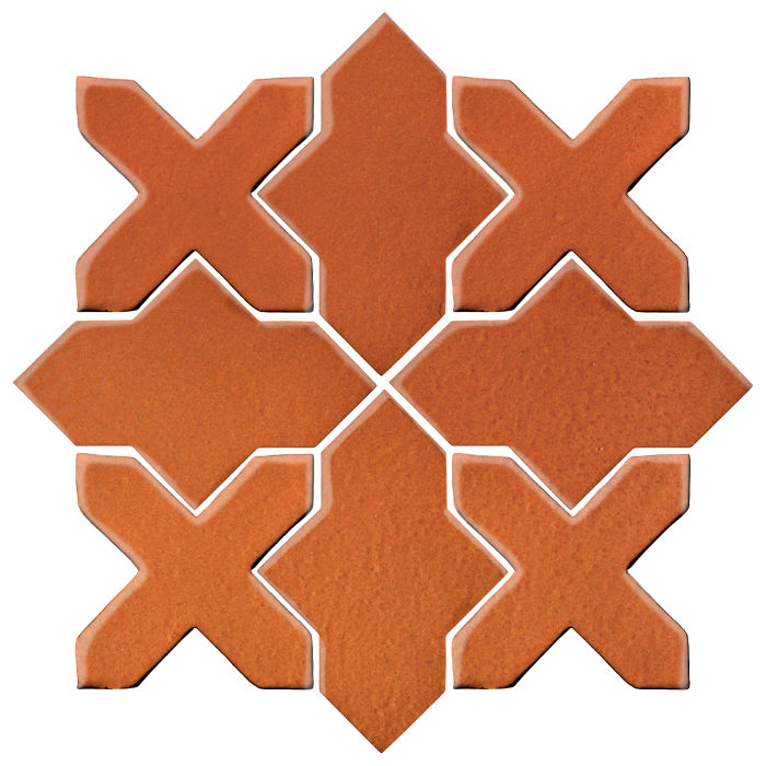 Studio Field Arabesque Pattern 2B Spanish Brown