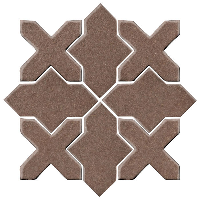 Studio Field Arabesque Pattern 2B Suede 405c
