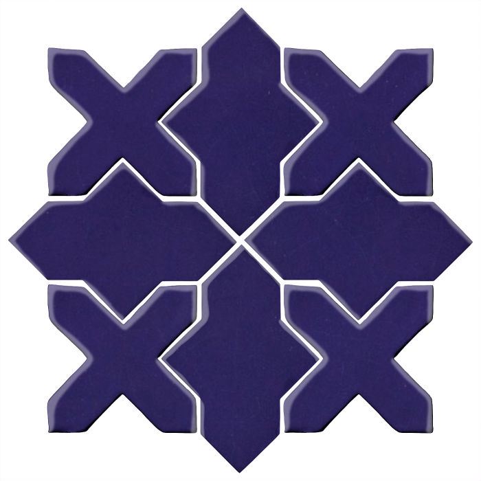 Studio Field Arabesque Pattern 2B Ultramarine 2758c