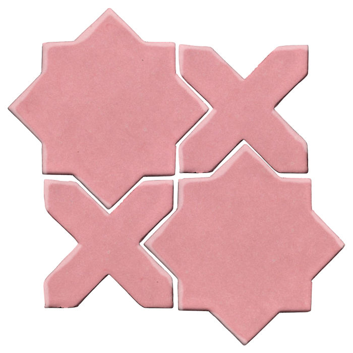 Studio Field Arabesque Pattern 2C Bubble Gum