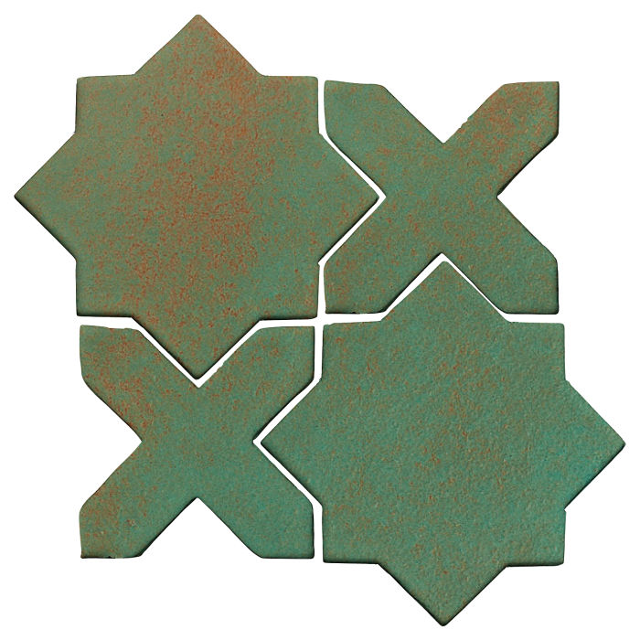Studio Field Arabesque Pattern 2C Copper