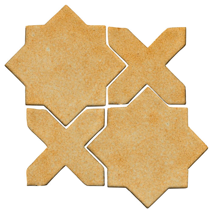 Studio Field Arabesque Pattern 2C Deli Mustard 7551u