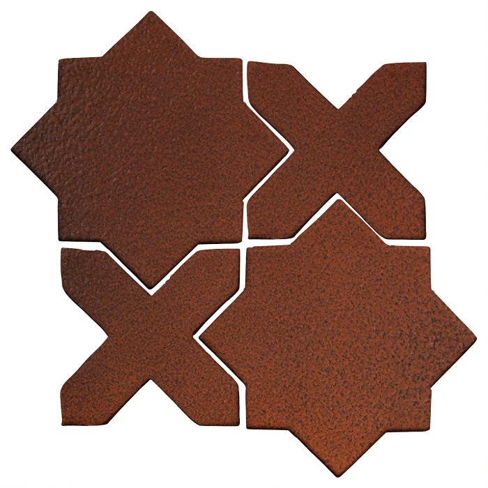 Studio Field Arabesque Pattern 2C Leather